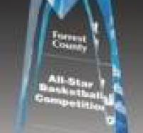 Blue Sculpted Star Award