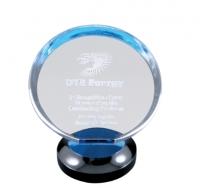 Round Blue Halo Award