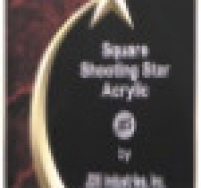 Shooting Star Red Marble Award