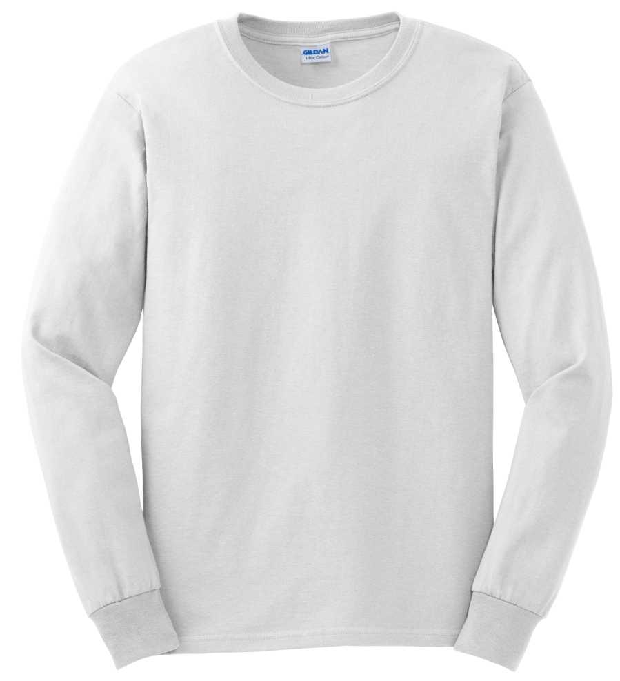 Plain White Long Sleeve T Shirts
